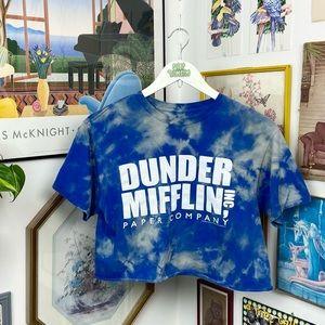 The Office Dunder Mifflin Cropped T-Shirt